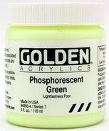 GoldenPaints Phosphorescent Green