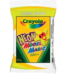 Crayola Laser Lemon Neon Model Magic bag