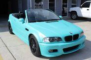 DYP Intense Teal BMW Car