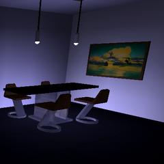 Executive Apartment Dining Area