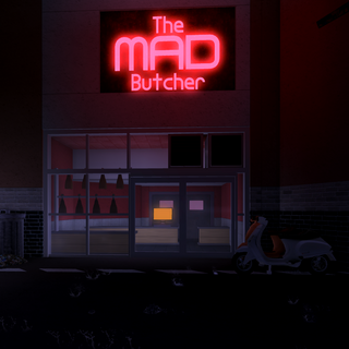 The exterior of The Mad Butcher