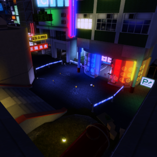 Crime scene from Amery Plaza