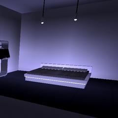 Executive Apartment Bedroom