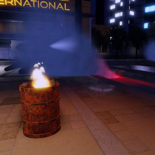 Barrels and flares