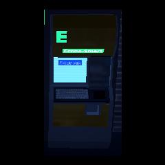 ATM outside of Econo-Smart