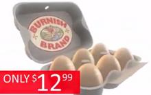 Burnishbrand eggs