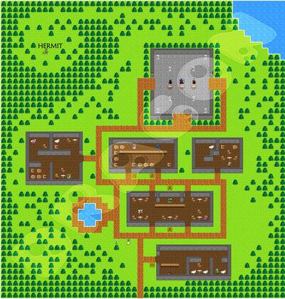 11 Lakeside map
