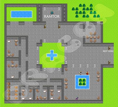 17 Meridell Castle map
