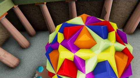 Flying through a compound of 6 dodecahedra? - NeoTrie VR