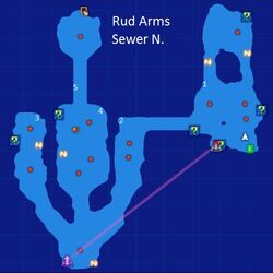 Rud Arms Sewer N. Map Re;Birth3