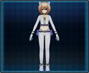 White Cat Suit (Blue) Blanc 4GO