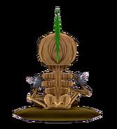 Wood SkeletonBack