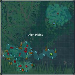 Alph Plains Cyberdimension Map