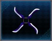 Lapis Lazuli Shuriken 4GO