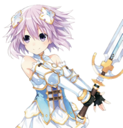 Neptune Four Goddesses Online Render