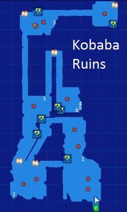 Kobaba Ruins Map Re;Birth3