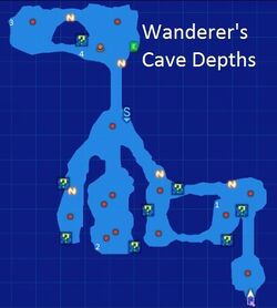 Wanderer's Cave Depths Map Re;Birth3