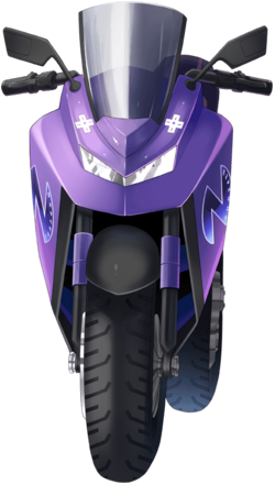 Nepbike - Superdimension Neptune VS Sega Hard Girls