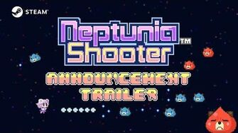 Neptunia™ Shooter - Announcement Trailer (Steam)