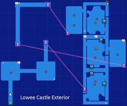 Lowee Castle Exterior Map Re;Birth3