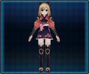Samurai Flower Armor (Red) 4GO