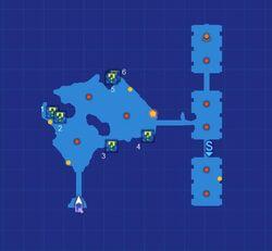 Neo Geofront Depths Map