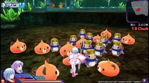 PS Vita「超次元アクション ネプテューヌU」 プレイムービー「ロム編」