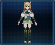 Samurai Flower Armor (Green) 4GO