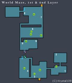 World Maze, 1st and 2nd Layer
