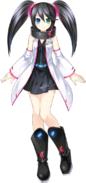 Sega Saturn (English) - Sega Hard Girls render