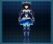 Bird Dance Dress (Blue) 4GO