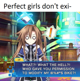 Perfect Girls don't Exi- - IF