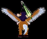 Eggplant RiderBack