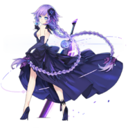 AzurLane-Purple Heart Dress
