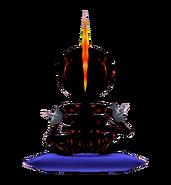 Flame SkeletonBack