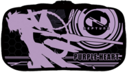 Purple Heart Game Pouch Anime