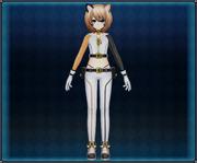 Calico Cat Suit (Light Brown) Blanc 4GO