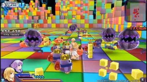 PS Vita「超次元アクション ネプテューヌU」プレイムービー「ベール編」