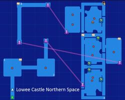 Lowee Castle Northern Space Map Re;Birth3