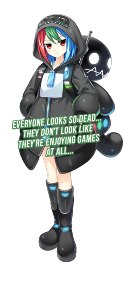 Game Gear - Sega Hard Girls render