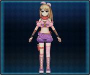 Kabukimono Ninja Attire (Pink) 4GO