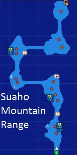 Suaho Mountain Range Map Re;Birth3