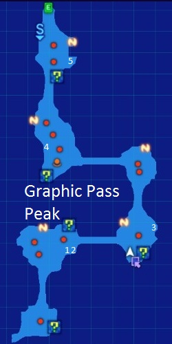 Graphic Pass Peak Map Re;Birth3