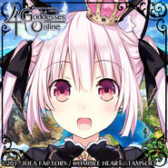 4 Goddesses Online Black Cat Princess Twitter Icon