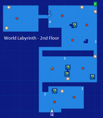 World Labyrinth-2nd Floor Map Re;Birth2