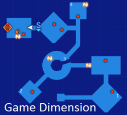 Game Dimension Map Re;Birth3