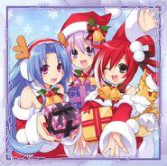 Hyperdimension Neptunia - Christmas
