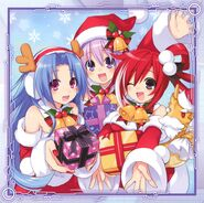 Hyperdimension Neptunia - Christmas
