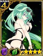NNC-Green Heart Swimsuit card