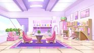 Neptune and Nepgear's room